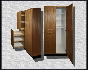 Pantry closet combo