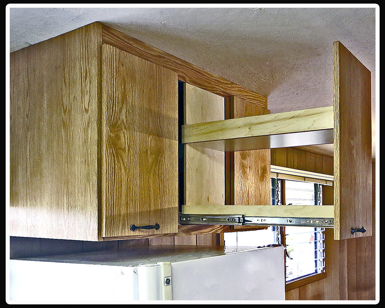 Refrigtop cabinet