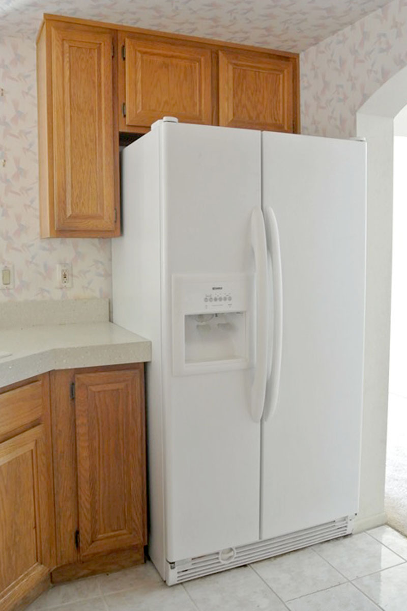 REFRIGERATOR TOP CABINET | KITCHEN CABINETS